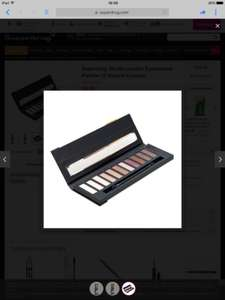 Studio eye shadow palettes (was £6) now £3 at Superdrug online