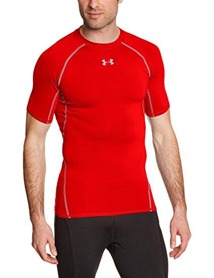 Under Armour Men's Ua Hg Armour Ss Short-Sleeve Shirt £14.99 (Prime) at amazon