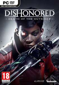 Pre-Order Dishonored Death of the Outsider, PC £9.99 with prime / £13.98 Non Prime @ Amazon
