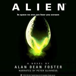 Audible DOTD, Alien by Alan Dean Foster (audio book) £1.99