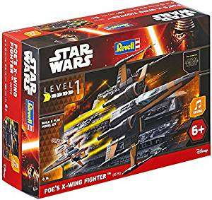 Revell Star Wars POE'S X-WING FIGHTER £11.71 Prime / £15.70 Non Prime @ Amazon