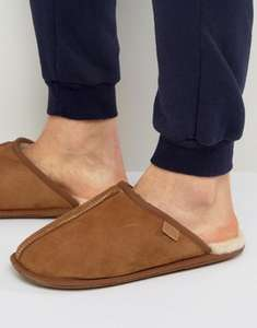 mens Just Sheepskin Donmar Mule tan Slippers £22.05 Del @ ASOS with code MORESALE (£60 RRP @ Amazon etc) great Christmas present