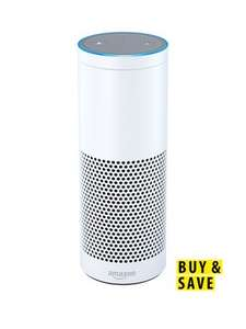 Amazon Echo Multimedia Speaker with Voice Control £69.99 with code (New customers only) Free del @ very