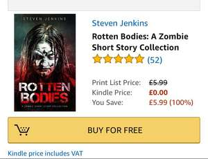 Free Kindle Book - Rotten Bodies: A Zombie Short Story Collection by Steven Jenkins
