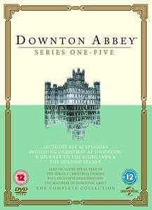 Downtown Abbey series 1-5 £9.99 on itunes