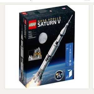 Now in stock! LEGO Ideas 21309 NASA Apollo Saturn V £109.99 @ John Lewis