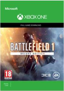 Battlefield 1 Deluxe Edition Xbox One £31.99 @ CDKeys