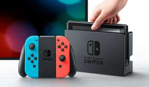 Nintendo Switch (Neon Red/Neon Blue) - £259.99 - Amazon