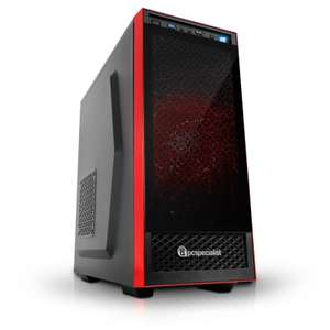 PC Specialist Vanquish Centurion Gaming PC (Intel i5-7400, 8GB DDR4, 1TB HDD, GTX 1050Ti, Win10, 3 Year Warranty) £599.99 Delivered @ eBuyer