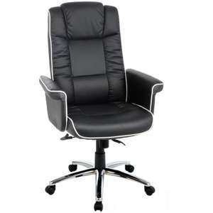High Back Gas Lift Chelsea Executive Chair - Black £39.99 Del From the Argos Shop on ebay