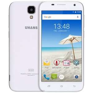 UHANS A101 Android 6.0 5.0 inch 4G Smartphone MT6737 1.3GHz Quad Core 1GB RAM 8GB ROM Bluetooth 4.0 GPS A-GPS £49.41  @ GearBest