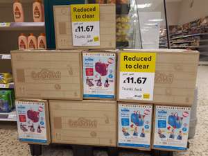 Trunki reduced to clear £11.67 @ Tesco Gloucester
