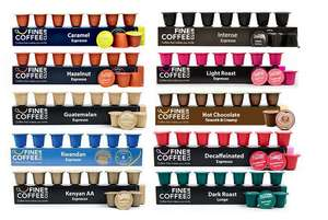 100 Nespresso-Compatible Coffee & Hot Chocolate Capsules £14.94 Delivered - Fine Coffee Club (via Wowcher)