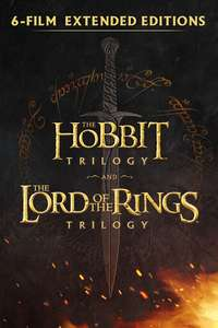 Middle-earth Extended Editions 6-Film Collection £34.99 SD, £39.99 HD @ Google Play
