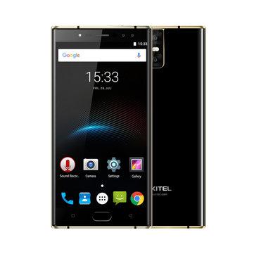 Oukitel K3 5.5'' Dual Front & Rear Cameras 4GB RAM 64GB ROM MT6750T 6000mAh Battery 4G Smartphone - £110.87 @ BangGood
