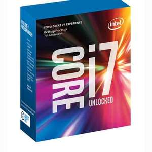 Intel Core i7-7700K 4.2 GHz QuadCore 8MB Cache Processor (£291.48) - Sold by UK Prime and Fulfilled by Amazon