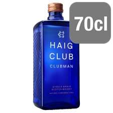 Haig Club Clubman Whisky 70cl @ Tesco down to £15