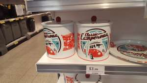Officially licensed VW Biscuit Tin. £1.99@ Home Bargains