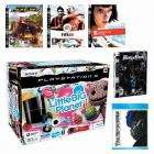 PS3 80GB Console + LBP + Mirrors Edge + Resistance 2 + Prince of Persia Steelbook + Fifa 09 + Transformers Blu ray - £348.49 @ Game