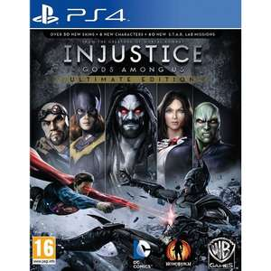 [PS4] Injustice Gods Among Us Ultimate Edition - £9.99 - TheGameCollection