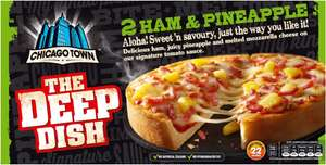Chicago Town Deep Dish Four Cheese Pizzas (2 x 155g)  Half Price: Was £2.00 Now £1.00 @ Sainsbury's