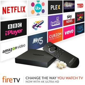 Certified Refurbished Amazon Fire TV 4K  - Amazon - £59.99