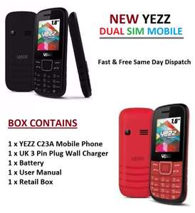Similar to Nokia 3310 2017 Yezz C23A Cheapest Factory Unlocked Dual Sim phone reduced to clear for £14.74 + Free Delivery on eBay / FineBargains