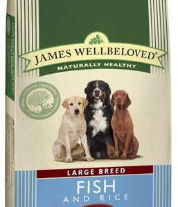 James Wellbeloved Adult Large Breed dry dog food 15kg - £35.99 @ Pets At Home with code.