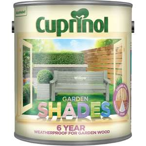Cuprinol Garden Shades - £5/£10 Many colours in Store Wilkinsons