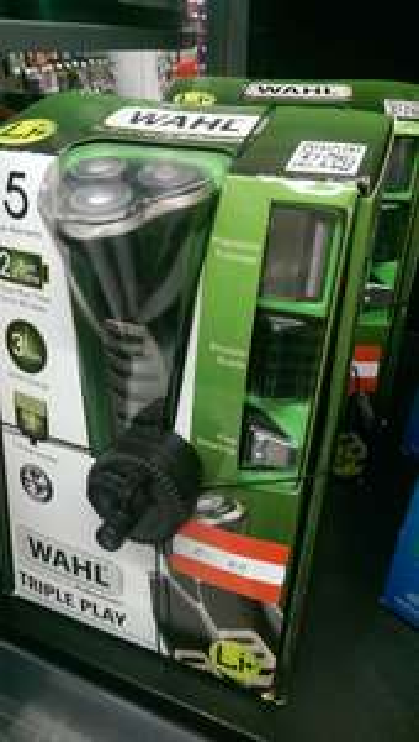 wahl lithium triple play shaver - £22.49 instore @ Asda