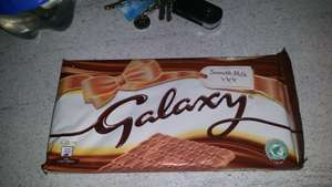 Galaxy chocolate 390g £1.99 @ farmfoods