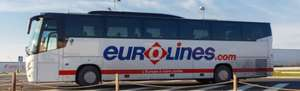 Return coach trip to Europe - £5 with Eurolines via Money Saving Expert