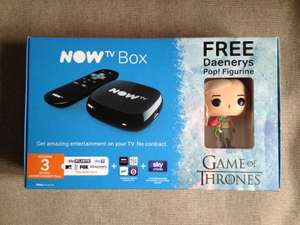 Now TV Box with 3 months Entertainment Pass with free Game of Thrones Pop! figure £10 instore @ Asda