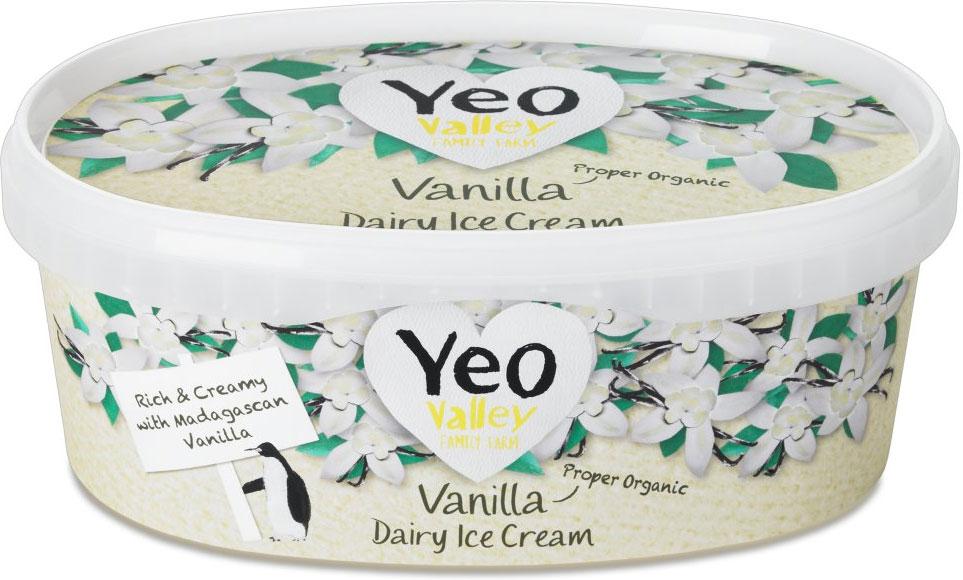 Yeo Valley Organic Vanilla Dairy Ice Cream (900ml) was £3.50 now £1.75 @ Ocado