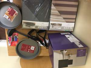 Home items price reduction - (Duvet set D - £3.00, Duvet Set K £3.50 3x USB memory 16 GB £3.75 etc) - instore @ Tesco (Cambridge)