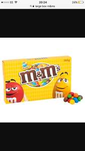 Large 365g box m&ms selling in nisa £1.50