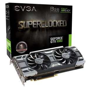 EVGA GeForce GTX 1080 SC ACX 3.0 8GB + Destiny 2 - £509.57 @ CCL Online