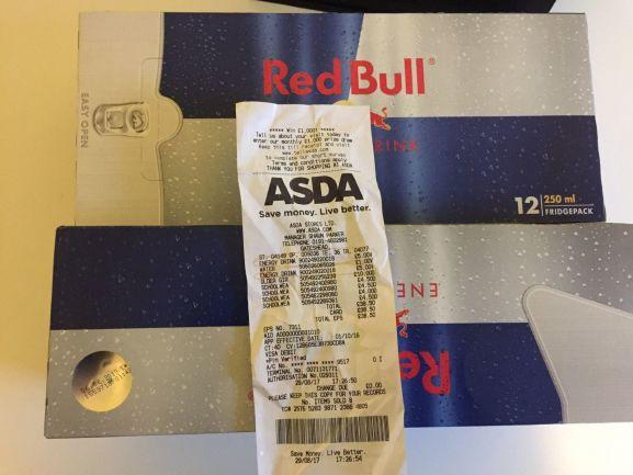12x250ml Red Bull Cans £5 @ASDA Metrocentre Gateshead