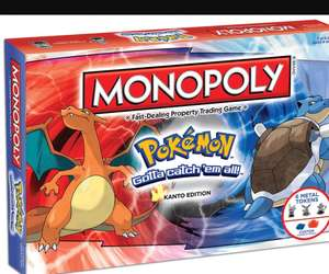 Pokemon Monopoly £21.97 delivered @ Groupon