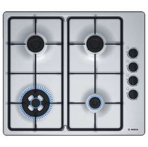 Bosch PBH6B5B60 Gas Hob with Wok Burner Stainless Steel £120 delivered at John Lewis
