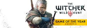 STEAM - The Witcher 3: Wild Hunt - Game of the Year Edition (50% off at £17.49)