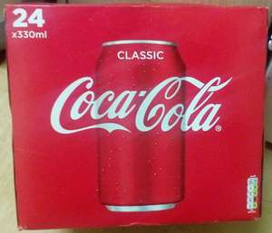Box of 24 x 330ml Cans of Coke IN-STORE @ Iceland - £6.50