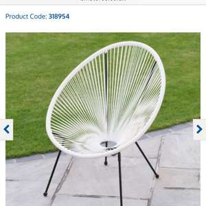 String Moon Chair  Product Code: 318954 £1.99 B&M