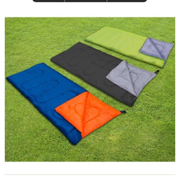 Envelope Sleeping Bag - 200gm 10p B&M