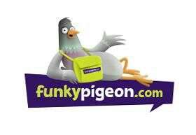 20% off total cost (inc. delivery) - works on everything at Funky Pigeon
