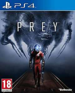 Prey [PS4] New & Sealed £16.95 @ Ebay Seller: thegamecollectionoutlet