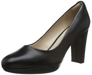 Clarks Women's Kendra Sienna Closed-Toe Pumps (Size 3-8) (Black) was £65 now £25 @ Amazon