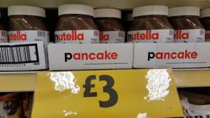 Nutella 750g at Morrisons - £3 instore