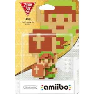 8 Bit Link (The Legend of Zelda) amiibo BACK IN STOCK - £10.99 (+£1.99 P&P) @ Nintendo Store