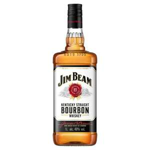 Jim Beam White Bourbon (1L) was £23.00 now £18.00 @ Tesco